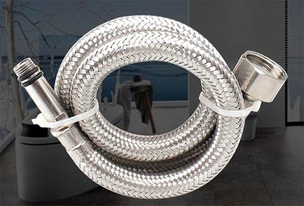 zhuan利单头编织软管
